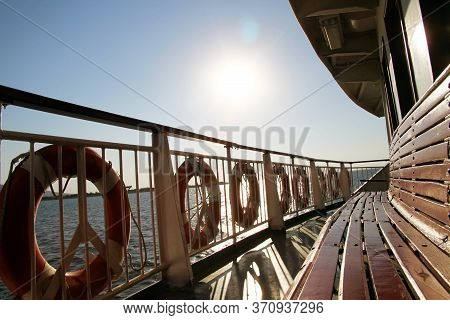 Capture From Inseide The Ferryboat