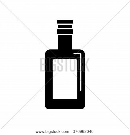 Cognac, Bottle, Glass Icon. Simple Vector Liquid Container Icons For Ui And Ux, Website Or Mobile Ap
