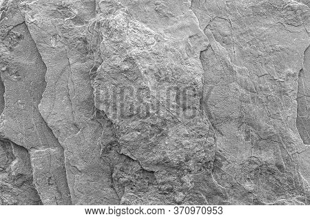 Gray Stone Texture Background. Stones For The Background. Close-up For Text. Stone Texture. Abstract