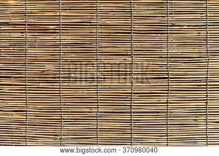 Bamboo Wood Blinds Texture And Background Seamless