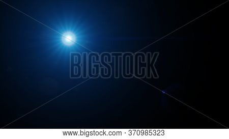 High-quality Stock Image Of Sun Rays Light Effects, Overlays Or Flare Glow Isolated On Black Backgro