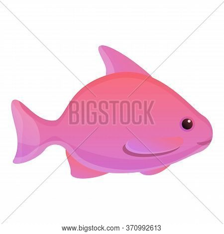 Breeding Fish Icon. Cartoon Of Breeding Fish Vector Icon For Web Design Isolated On White Background