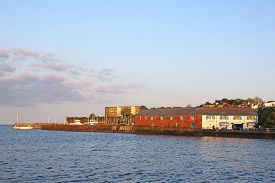 Paignton Seafront And Harbour, Torbay In Devon