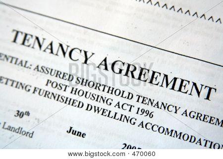 Uk Tenancy Agreement