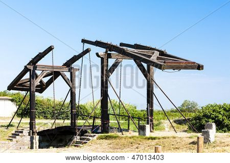 Vincent van Gogh bridge near Arles, Provence, France poster