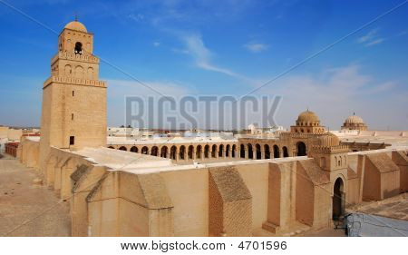 Great Mosque of Kairouan. Tunisia africa architecture religion poster