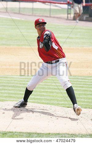 Altoona Curve pitcher Stolmy Pimental