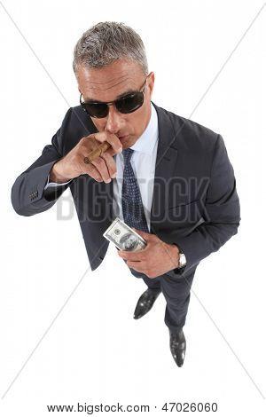 An Italian mobster