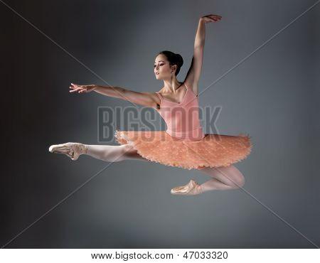 Weiblichen Balletttänzer und Choreograf