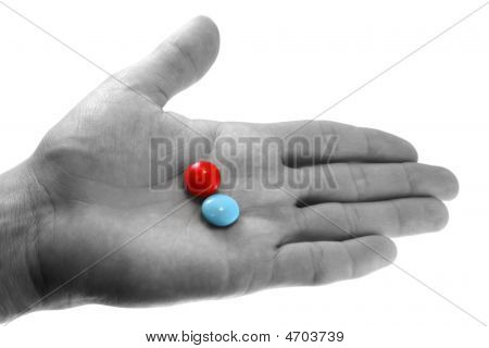 Pills On The Hand