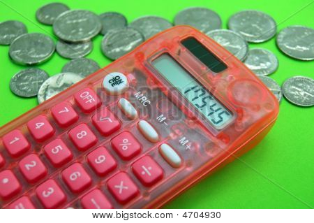 Calculator With Coins
