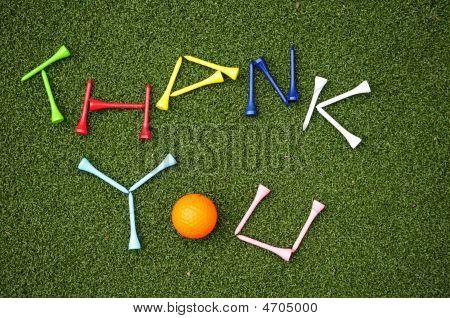 Golf Ball Thank You