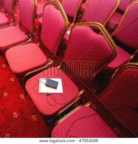 Rows Of Chairs In Conference Room