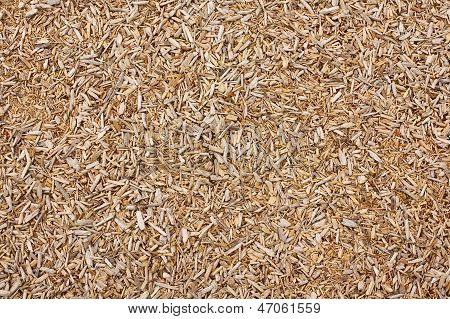 Wood Chip Texture Background
