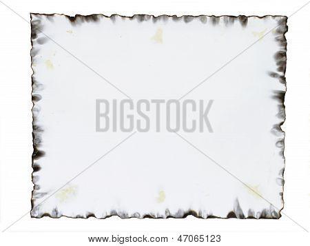 Burnt Paper Frame