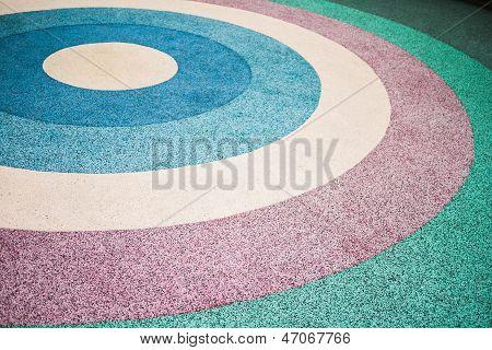 Multi Colored Sandstone Floor
