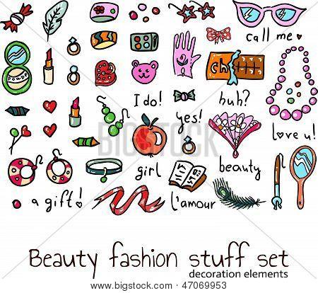 Girl Stuff Set
