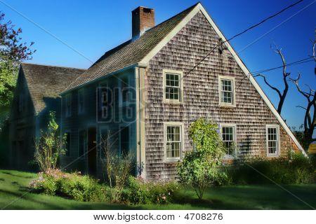 Cape Cod  Salt Box House