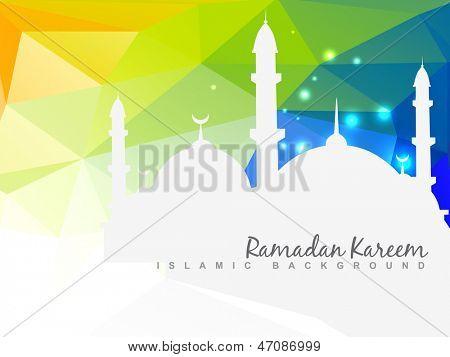 vector beautiful islamic background design