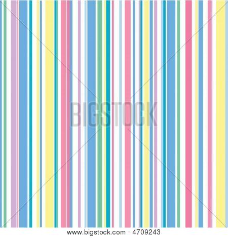 Pastel Stripe Pattern