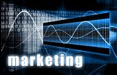 Marketing as a Creative Concept Art Background poster