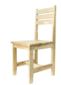 Wooden Chair on isolated