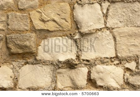 Chalk Wall Section