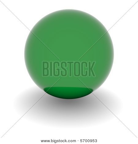High Resolution Ball With Flag Of Lybia