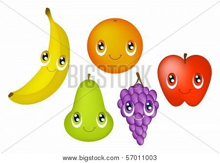 Fruit With Faces