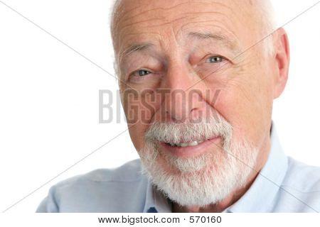 Senior Man - vertrouwen