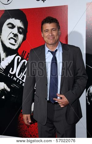 Steven Bauer at the