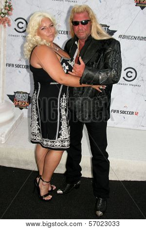 Dog The Bounty Hunter at Comedy Central's Roast Of Charlie Sheen, Sony Studios, Culver City, CA. 09-10-11