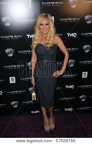 Bridget Marquardt at the Saints Row: The Third Game Pre-Launch Event, Supperclub, Hollywood, CA. 10-12-11