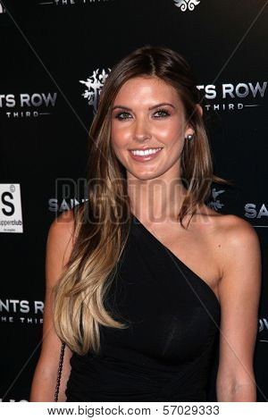 Audrina Patridge at the Saints Row: The Third Game Pre-Launch Event, Supperclub, Hollywood, CA. 10-12-11