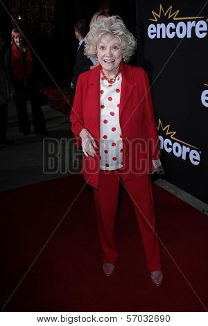 Phyllis Diller at the Premiere Of Encore's