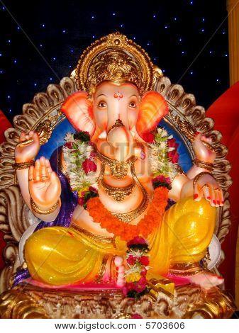 schöne indischen Gott Lord Ganesha