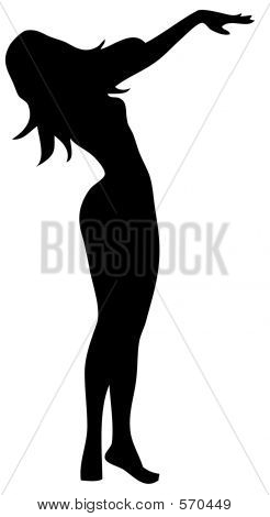 Sexy Silhouette Pinup 2