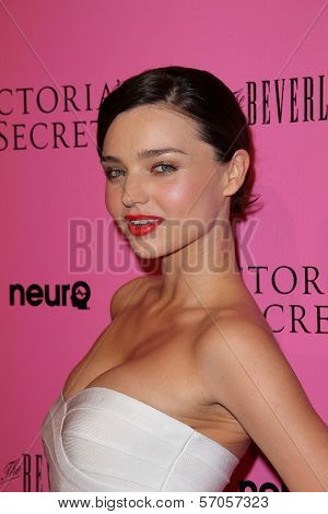 Miranda Kerr at the Victoria's Secret release of the 2011 What Is Sexy? list and the kickoffr to the bombshell summer tour, The Beverly, Los Angeles, CA. 05-12-11