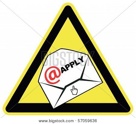 Applying Via Email Only