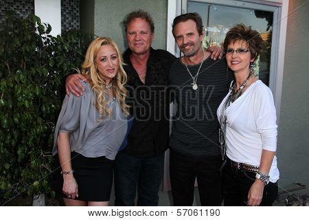 Jennifer Blanc, Jon Biehn, Michael Biehn at