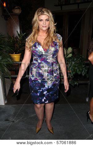 Kirstie Alley at Cheryl Burke's Birthday Celebration, BoHo, Hollywood, CA. 05-02-11