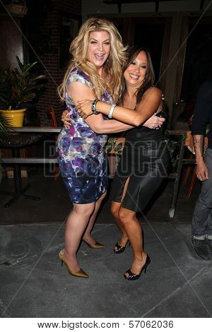 Kirstie Alley, Cheryl Burke at Cheryl Burke's Birthday Celebration, BoHo, Hollywood, CA. 05-02-11