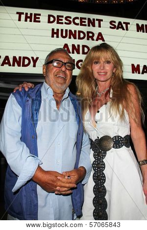 Matt Cimber and Laurene Landon at a rare screening of