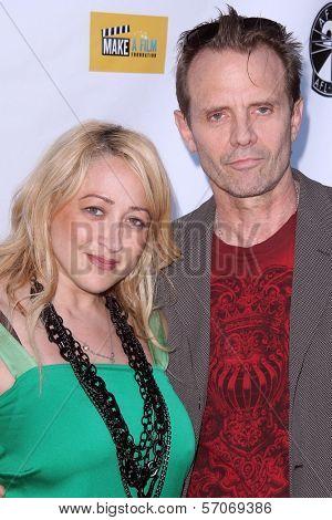 Jennifer Blanc-Biehn, Michael Biehn at the ITVFEST Opening Night Party, Drais, Hollywood, CA. 08-04-11