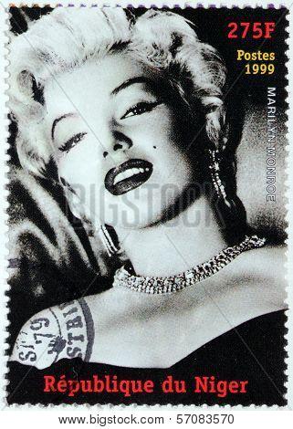 Marilyn Monroe - Niger Stamp #1