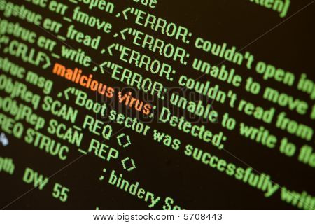 Searching For Virus