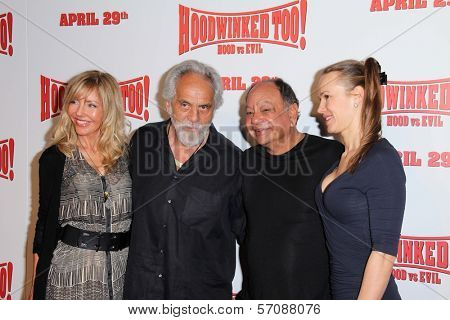 Tommy Chong and Cheech Marin at the