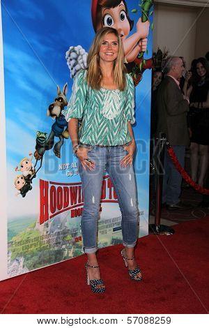 Heidi Klum at the