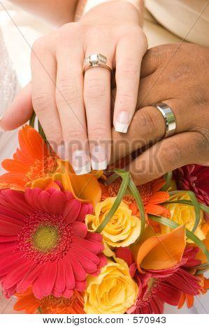 Hands And Boquet