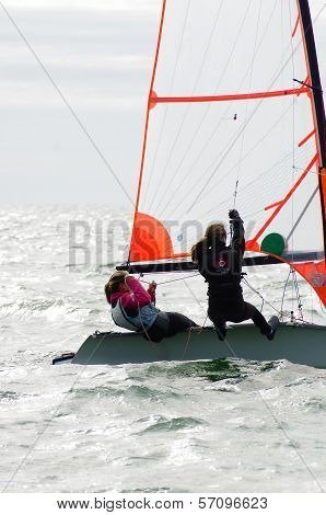 Rounding The Mark At The 29Er Nationals